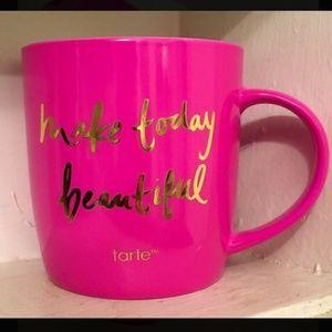 Tarte pink makeup brush holder
